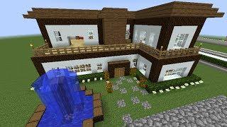 Tutoriales como hacer una casa en minecraft youtube for Como aser una casa moderna y grande en minecraft