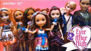 MY EVER AFTER HIGH DOLL COLLECTION!!