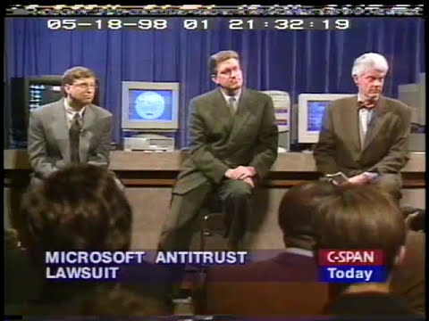 Bill Gates on the Microsoft Anti-Trust Lawsuit Negotiations (1998)