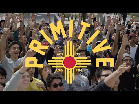Primitive Skate Albuquerque New Mexico Demo
