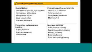 Overview: SAP Business Planning and Consolidation (BPC) presented by Bramasol and Solejar Consulting
