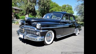 Rare Original 1950 DeSoto Custom w/ Only 5,861 Miles!