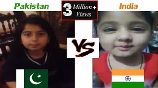 Fatima vs Amira/Pakistan vs India kids vs 2018 kids funny video