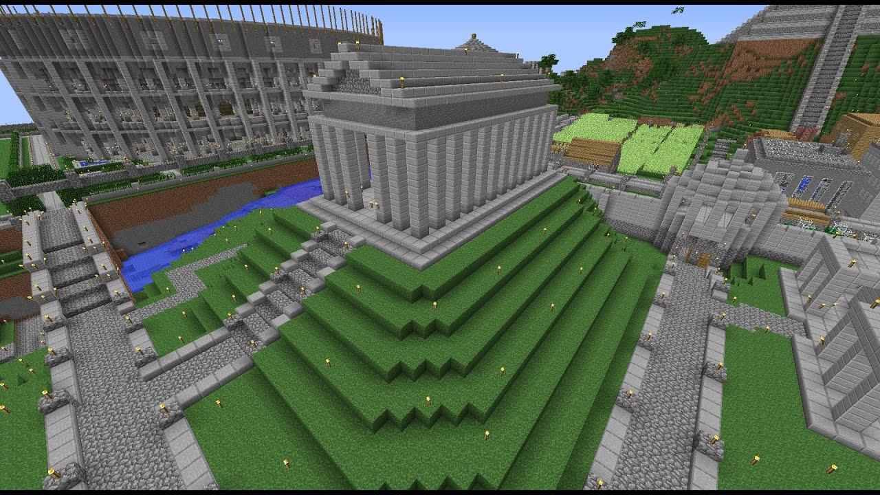 Minecraft Roman Temple