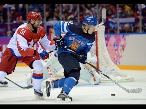 Russia vs Finland Olympics Hockey 2014 - Putin Pissed?