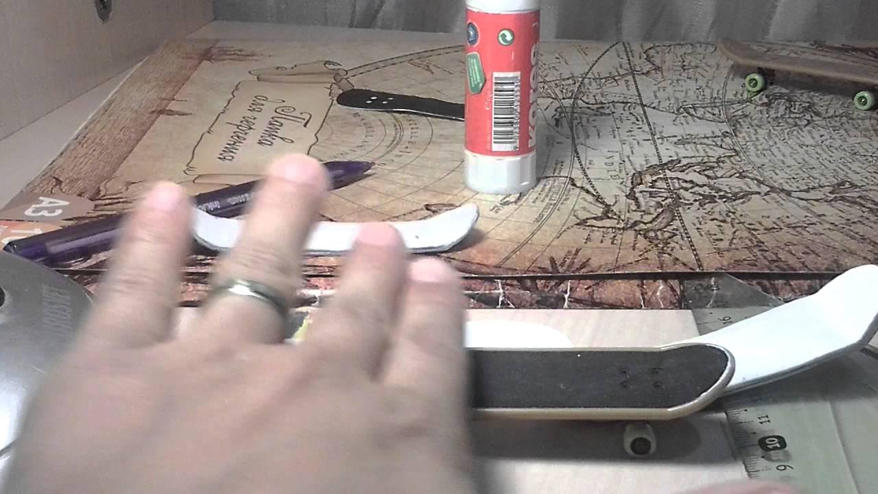 Как сделать деку для фингерборда из бумаги