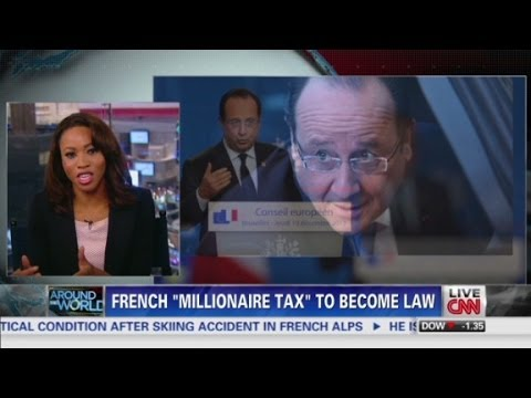 France to tax 75 % of millionaire salaries