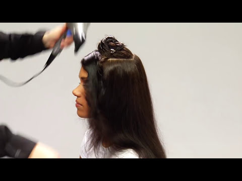 Aveda How To: All Day Straight Hair With Smooth Infusion™