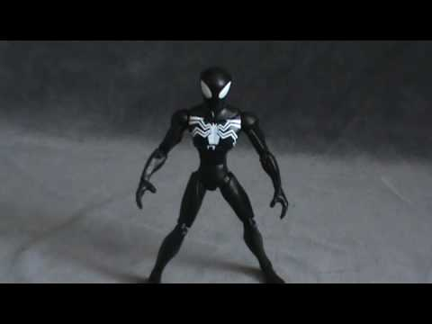 Toy Spot - Spectacular Spider-man Black Costume Spiderman
