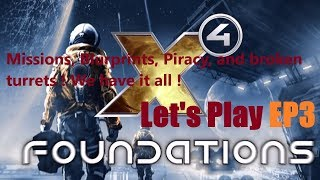 X4 Foundations Let's play P3 | X4 [1.30] | Piracy, blueprints, bad Autopilots. Gameplay.