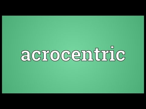 Header of Acrocentric