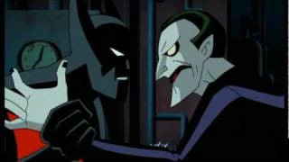 Batman Beyond Fighting the Joker