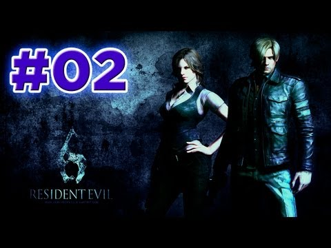 Resident Evil 6 HD | Campaña Leon | Capitulo 1 (2/3) | Español | Let's Play / Walkthrough