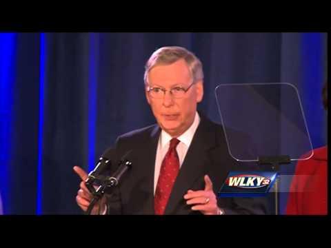 Complete video: Sen. Mitch McConnell victory speech