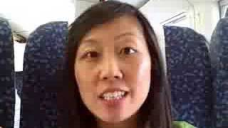 New High Speed Train From Beijing to Tianjin China