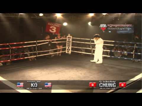 KO vs Chung - Bout 5, iFS HK 22 Mar &#039;12