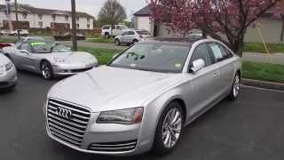 2012 Audi A8L 4.2 Quattro Walkaround, Start up, Tour and Overview