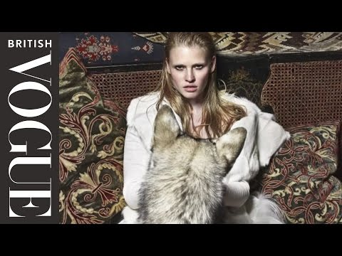 Kate Moss directs Lara Stone in fashion film