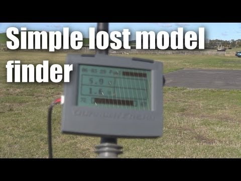 Finding lost RC planes using telemetry