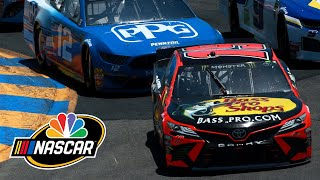 NASCAR Cup Series Toyota Save Mart 350 | EXTENDED HIGHLIGHTS | 6/23/19 | Motorsports on NBC