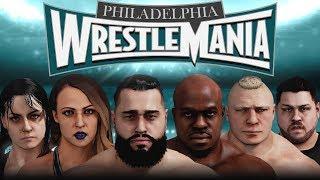 WWE 2K18 - Universe Mode - WrestleMania