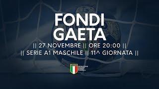 Serie A1M [11^]: Fondi - Gaeta 21-26