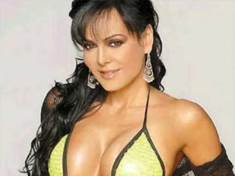Maribel Guardia espectaculares fotos semi desnuda en tangas - YouTube