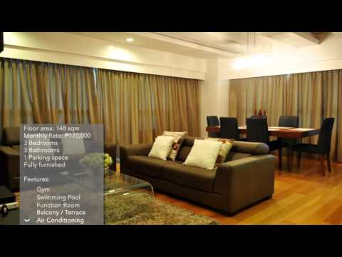 3-BR Condo for Rent in The Residences at Greenbelt, Makati