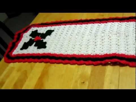 Crochet Christmas Runner Pattern Free Crochet Patterns