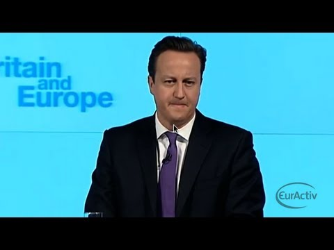 UK Prime Minister David Cameron\'s full \