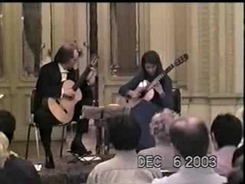 Duo Rioseco Moran -C. Debussy - Petit Suite -III Minuet