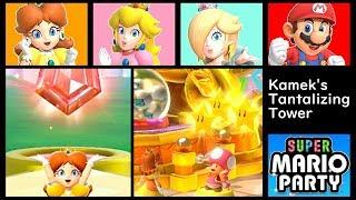Super Mario Party Kamek's Tantalizing Tower ◆ Daisy #1