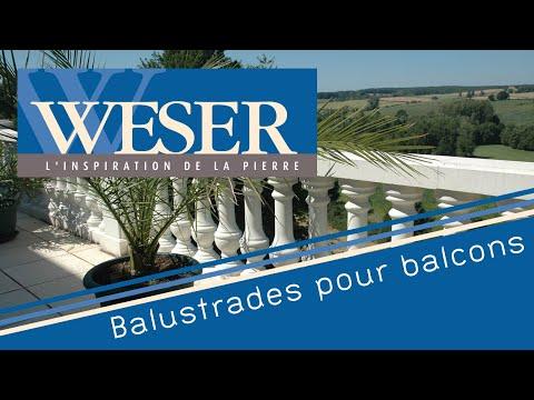 Balustrades weser youtube for Kit balustrade brico depot