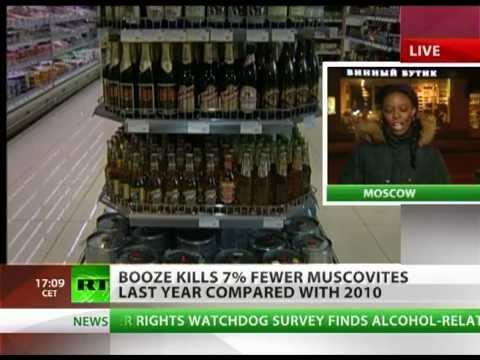 Vodka kills less Russians