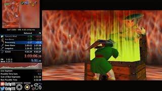 Ocarina of Time 100% Speedrun in 4:01:05