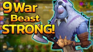 🔴Auto Chess : Gizmo Build 9Warrior+Beast Full Armor