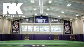 We Toured LIPSCOMB ACADEMY HIGH SCHOOL'S AMAZING FOOTBALL Facility & Equipment Room | Royal Key