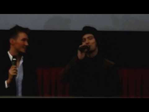 Jackson Rathbone suprises fans at Twilight Marathon