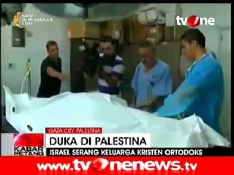 TERBARU Israel Serang Keluarga Kristen Ortodoks di Gaza di Hari Idul Fitri