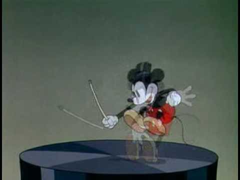 Mickey a tükrön át