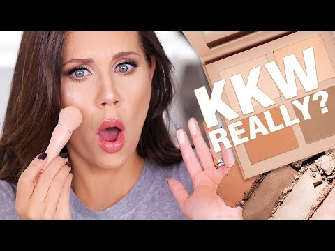 KKW BEAUTY Powder Contour & Highlight Kit   HOT or NOT ???