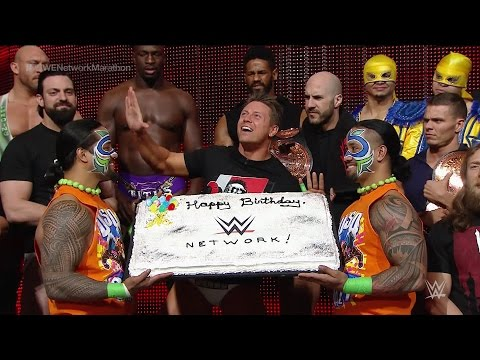 Wwe Superstars And Diva Wish Wwe Network A Happy Birthday video
