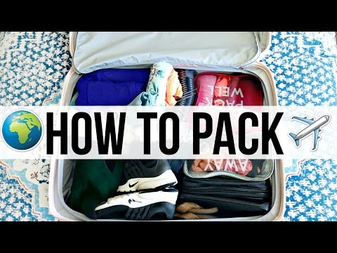 How To Pack Smart | Traveling Advice!