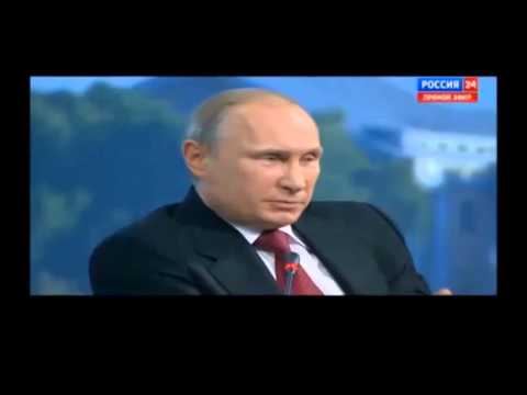 13.06.14 Владимир Путин о Сноудене