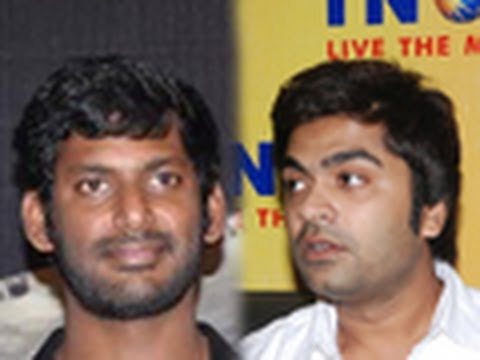 Director asked sorry to Simbhu & Vishal