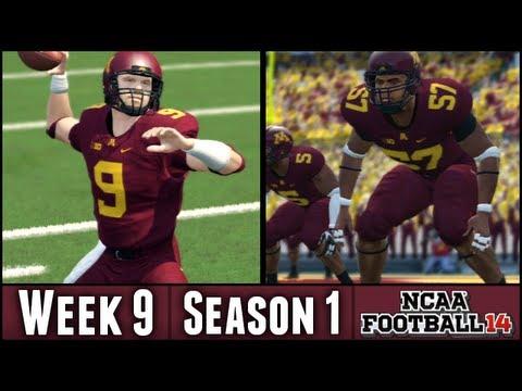 NCAA Football 14 Dynasty - Week 9 vs #4 Nebraska (Season 1)