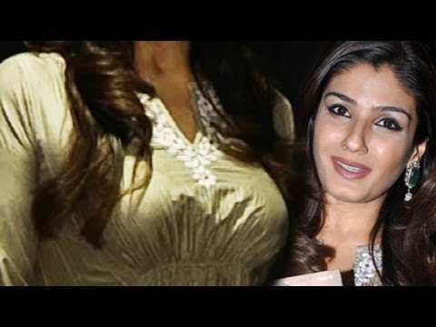 Hot Raveena Tandon Nice Shape Upper Body video