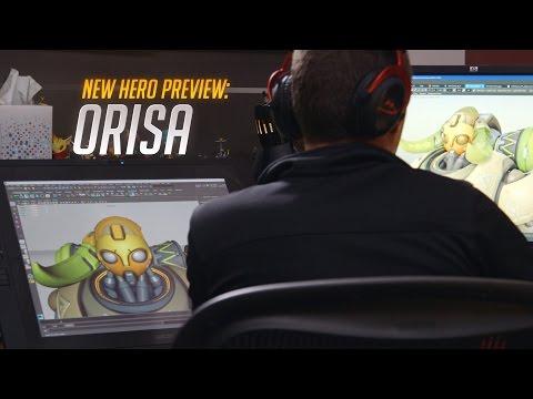 New Hero Preview: Orisa | Overwatch (AU)