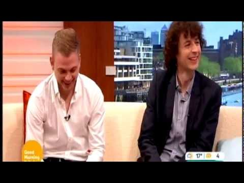 Minecrafts Stampy Longnose And Squid On Good Morning Britain Interview 26 5 2014