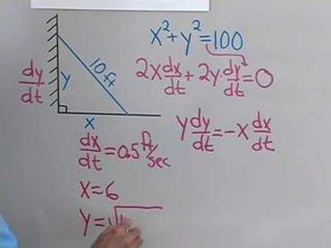 Calculus: Related Rates 2